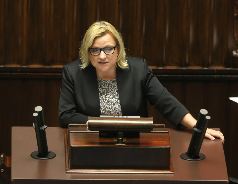 Beata Kempa broniła ustawy /Tomasz Gzell /PAP