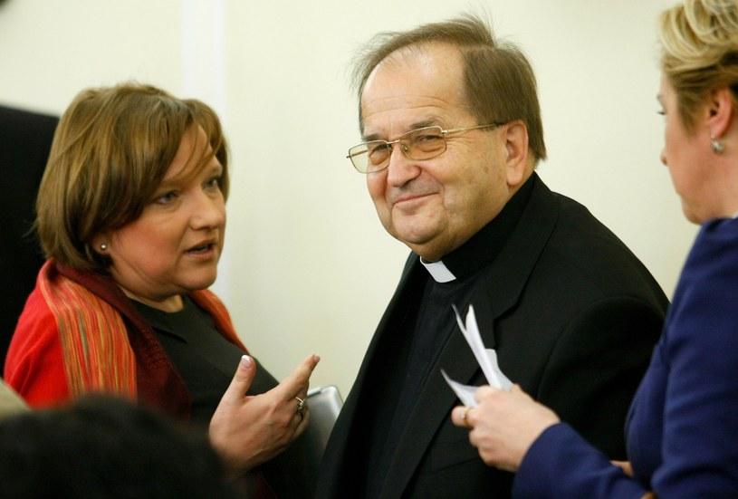 Beata Kempa i Tadeusz Rydzyk /Michał Dyjuk /Reporter