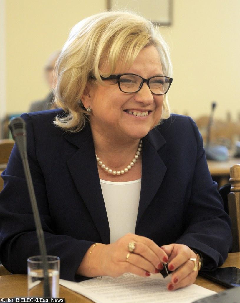 Beata Kempa nie ma poczucia humoru? /- /East News