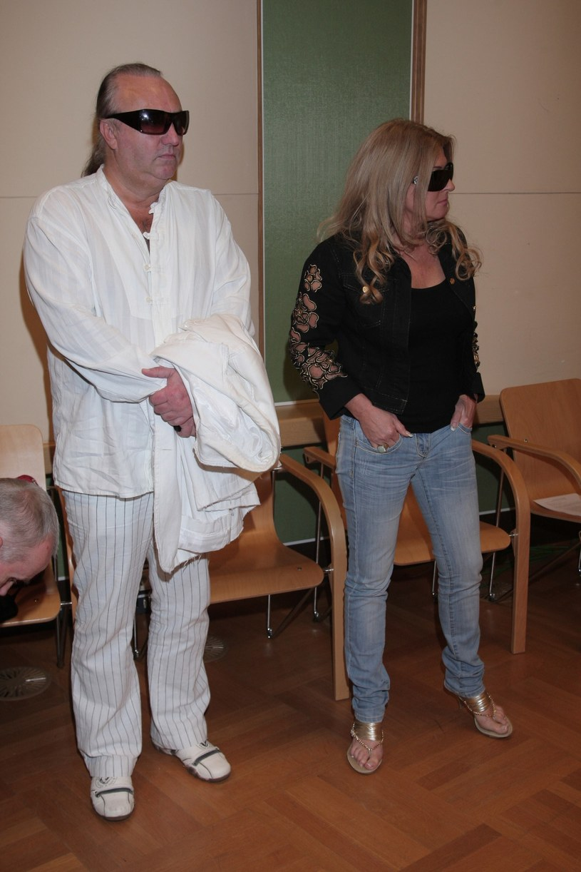 Beata Kozidrak i Andrzej Pietras /Tricolors /East News