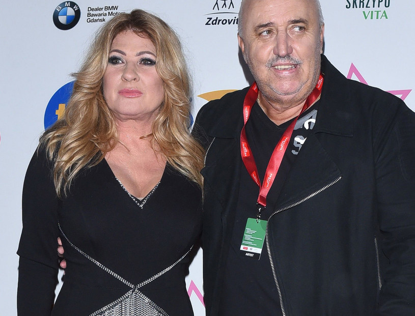 Beata Kozidrak i Andrzej Pietras /Andras Szilagyi /MWMedia