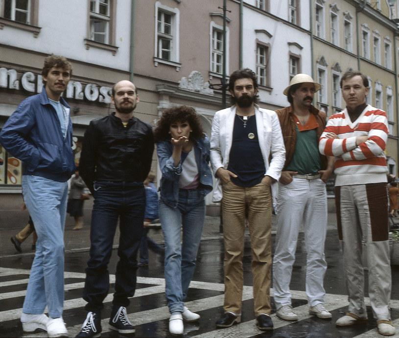 Beata Kozidrak i Bajm, Opole 1983 r. /fot. Miroslaw Stepniak/FOTONOVA /East News