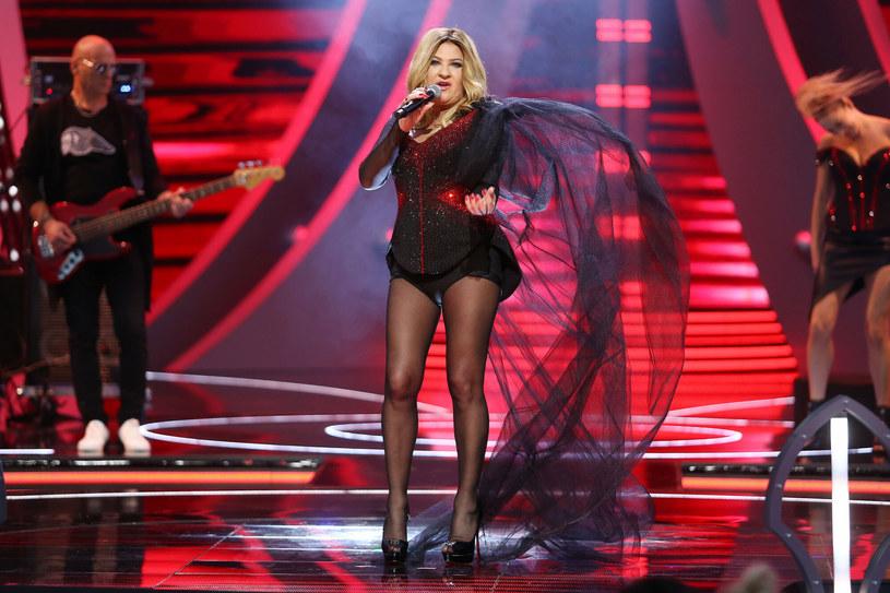 Beata Kozidrak wystąpiła na Polsat SuperHit Festiwalu /Piotr Matusewicz/East News /East News