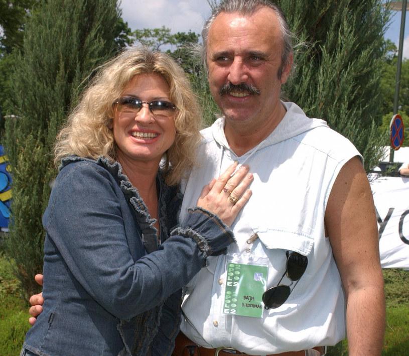 Beata Kozidrak z mężem /Krzysztof Wojda /Reporter