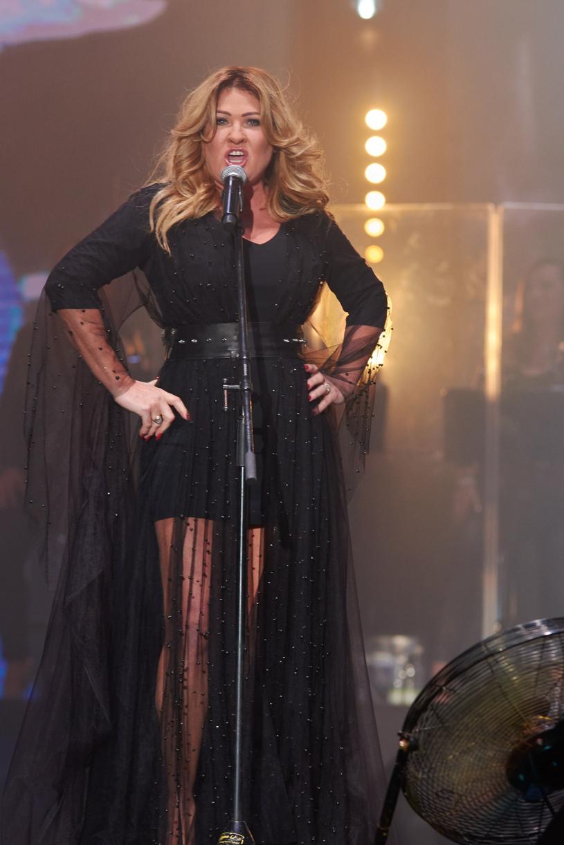 Beata Kozirak podczas koncert Bajmu w Lublinie, fot. Krzysztof Radzik /East News