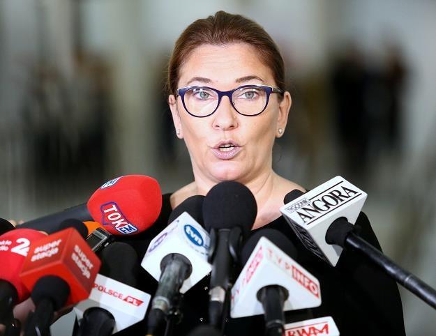 Beata Mazurek, rzeczniczka PiS. Fot. Piotr Molecki /Agencja SE/East News