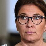 Beata Mazurek tłumaczy nieobecność podczas minuty ciszy w Sejmie