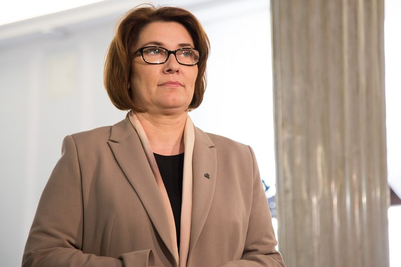 Beata Mazurek /Maciej Luczniewski/REPORTER /East News