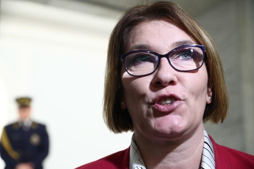 Beata Mazurek /fot. Andrzej Iwanczuk /Reporter