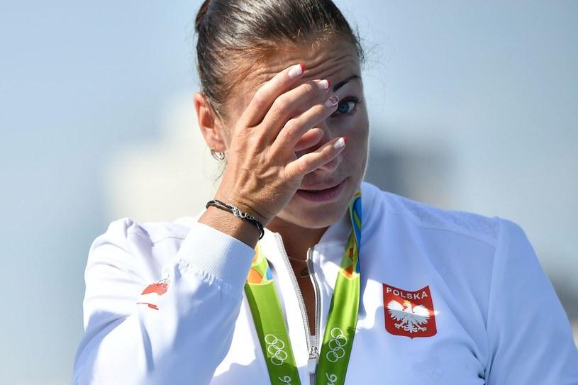Beata Mikołajczyk podczas igrzysk w Rio /AFP