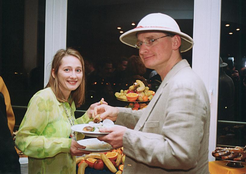 Beata Pawlikowska i Wojciech Cejrowski /- /AKPA