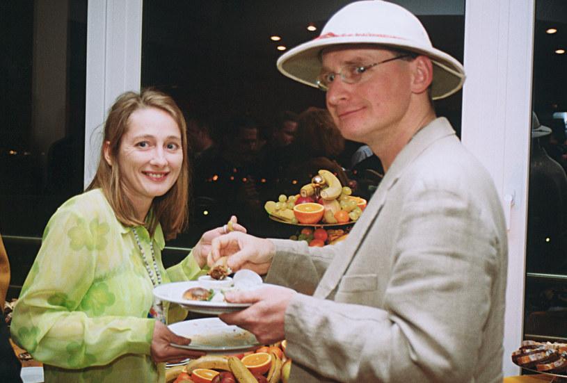 Beata Pawlikowska i Wojciech Cejrowski /Mikulski /AKPA