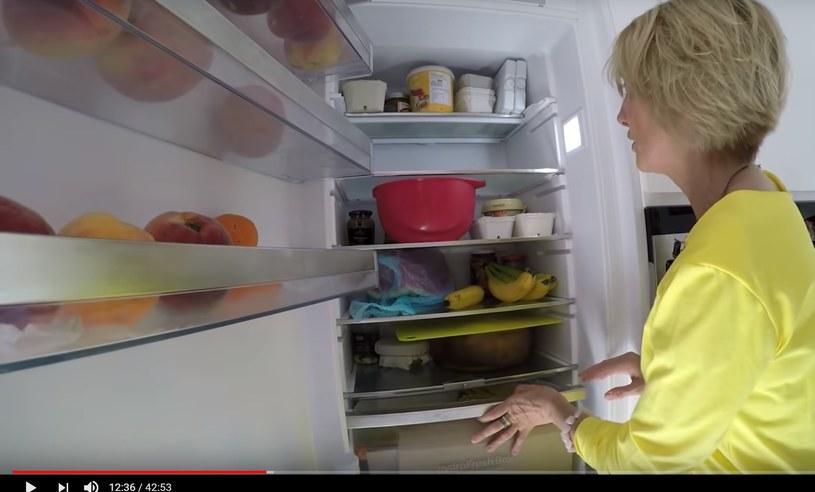 Beata Pawlikowska nie ukrywała nawet tego, co ma w lodówce /YouTube /materiał zewnętrzny