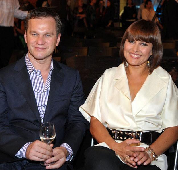 Beata Sadowska i Paweł Kunachowicz w 2008 roku /East News
