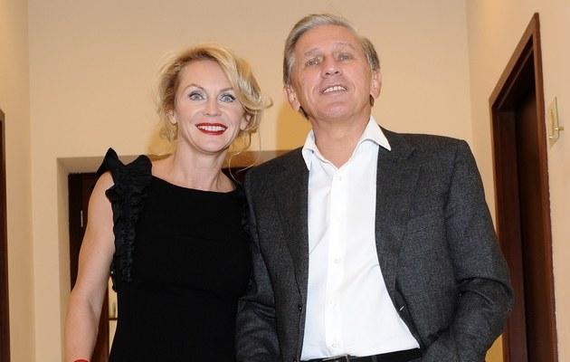Beata Ścibakówna i Jan Englert /Andras Szilagyi /MWMedia