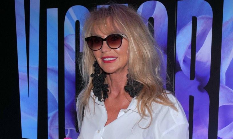 Beata Ścibakówna pomimo upływu lat wciąż jest piękną kobietą /Tricolors /East News