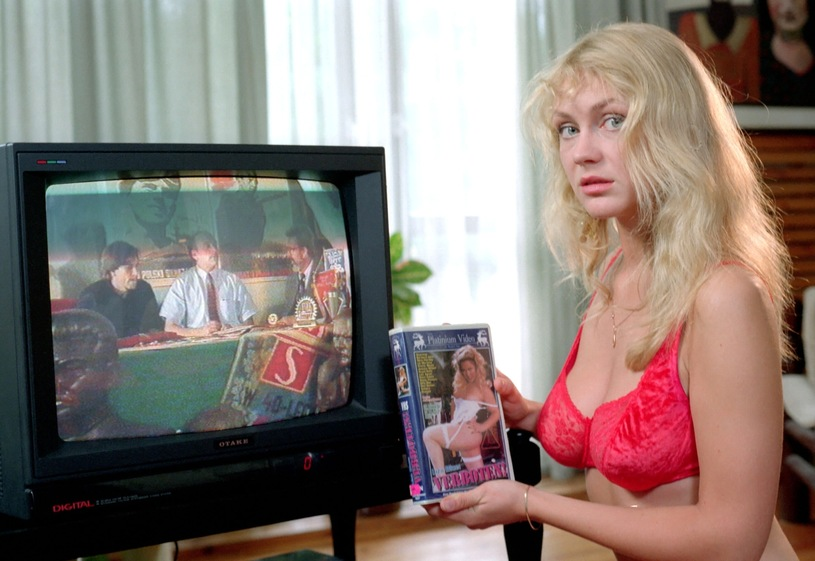 """Beata Ścibakówna w 1993 roku w filmie """"Do widzenia wczoraj"""" /East News/POLFILM"""