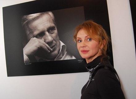 Beata Ścibakówna - wystawa zdjęć Janusza Gajosa w Galerii Sztuki Katarzyny Napiórkowskiej /MWMedia