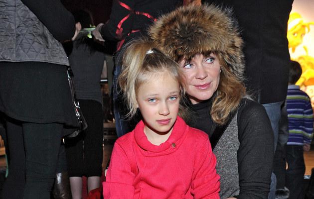 Beata Ścibakówna z córką Heleną, fot.Andras Szilagyi  /MWMedia
