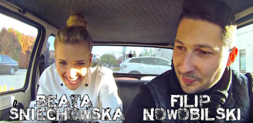 Beata Śniechowska w programie Duży w Maluchu /YouTube