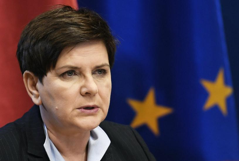 Beata Szydło: Będą kroki prawne wobec osób rozpowszechniających pomówienia ws. spotkania w Rytlu w 2017 r. /STEPHANE DE SAKUTIN /AFP