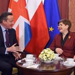 Beata Szydło dziękuje Davidowi Cameronowi i Viktorowi Orbanowi