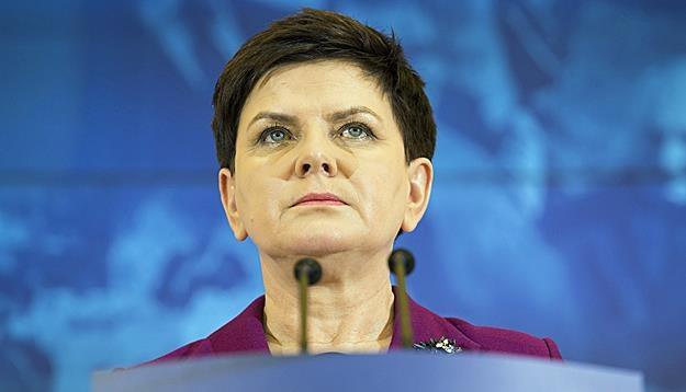 Beata Szydło. Fot. Andrzej Hulimka /Reporter