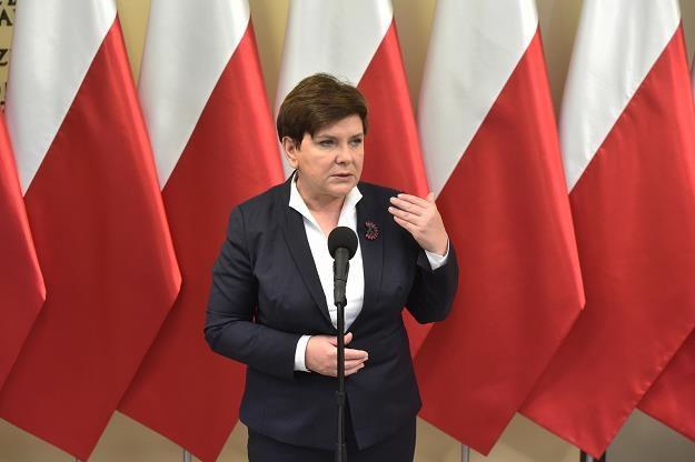 Beata Szydło /fot. Jacek Bednarczyk /PAP