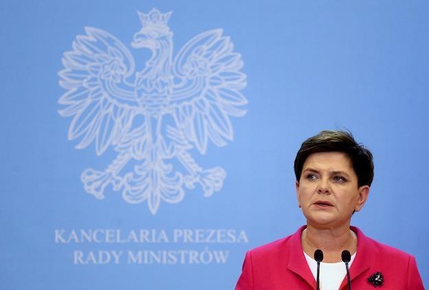 Beata Szydło /fot. Paweł Supernak /PAP