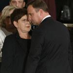"""Beata Szydło i Andrzej Duda na premierze """"Smoleńska"""""""