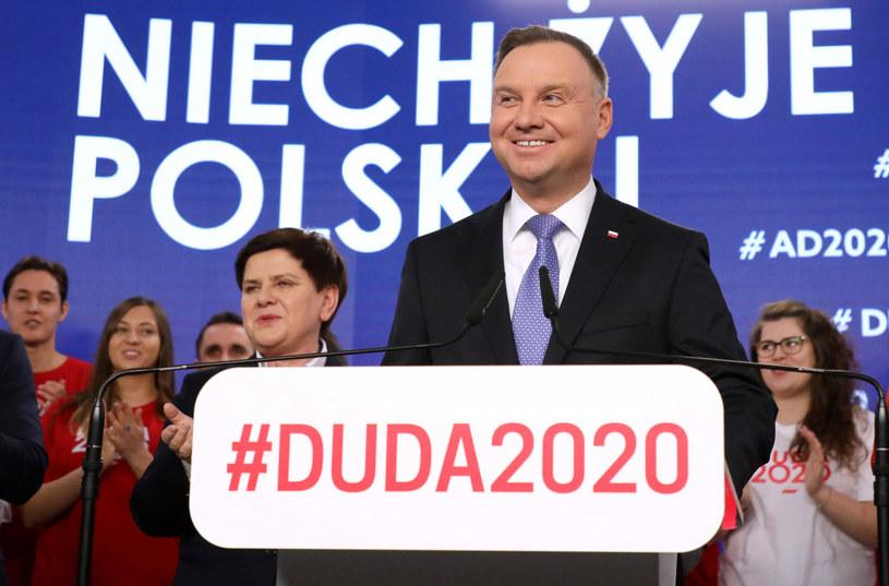 Beata Szydło i Andrzej Duda /Piotr Molecki /East News