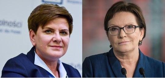 Beata Szydło i Ewa Kopacz /MARIUSZ GACZYNSKI/Lukasz Piecyk/REPORTER /East News