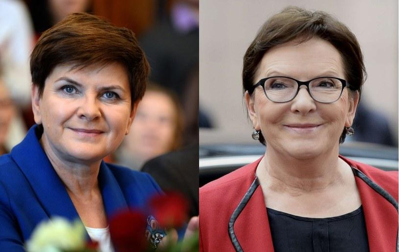 Beata Szydło i Ewa Kopacz /AFP
