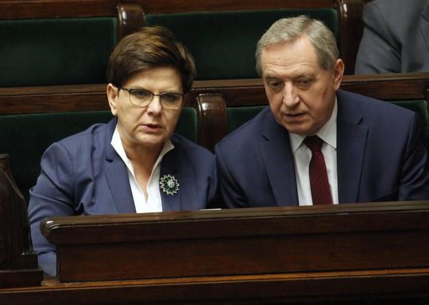 Beata Szydło i Henryk Kowalczyk /Stefan Maszewski /Reporter