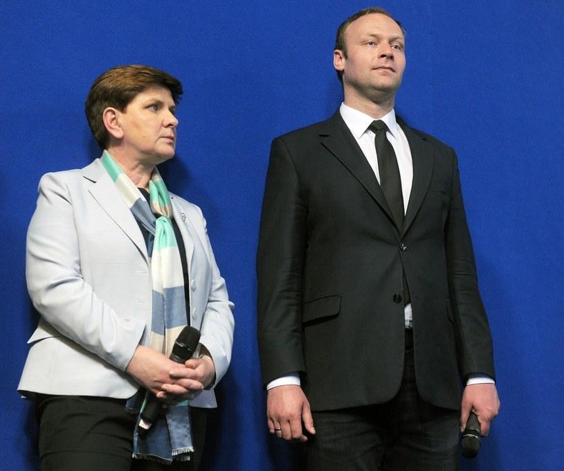 Beata Szydło i Marcin Mastalerek /Jan Bielecki /East News