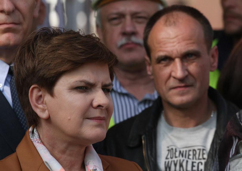 Beata Szydło i Paweł Kukiz nie będą w stanie zmienić konstytucji /Jakub Porzycki /Agencja FORUM