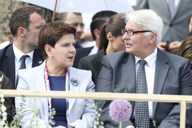 Beata Szydło i Witold Waszczykowski /Andrzej Iwańczuk /Reporter