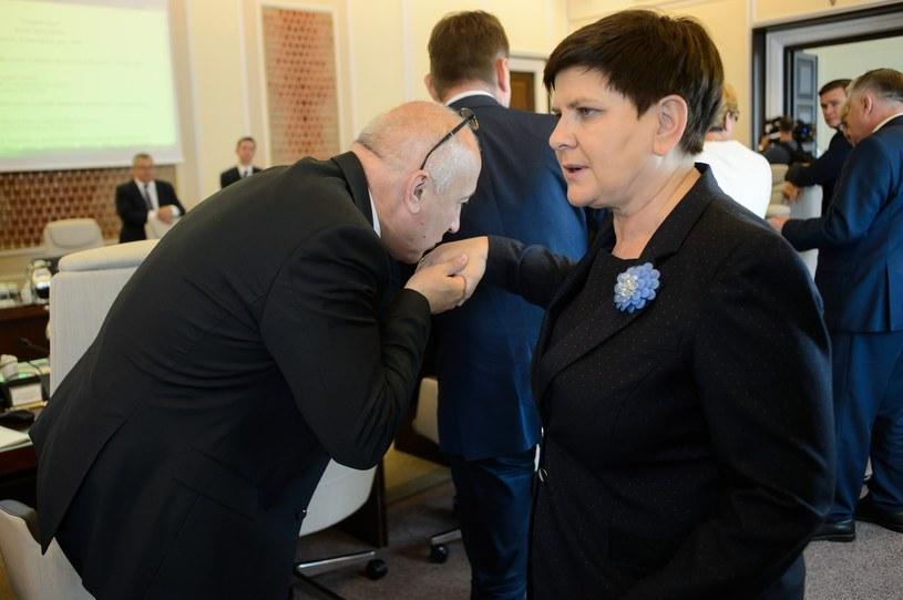 Beata Szydło myśli o przeprowadzce do Brukseli /Zbyszek Kaczmarek /Reporter