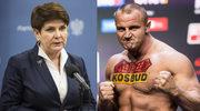 Beata Szydło nie chce uchodźców w Polsce. Mariusz Pudzianowski zachwycony: Brawooooo