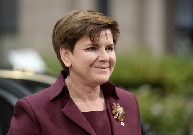 Beata Szydło nie chciała potwierdzić kwoty 71 mln euro /AFP