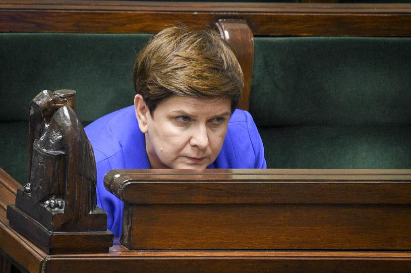 Beata Szydło nie jest już premierem /Jacek Dominski/REPORTER /East News