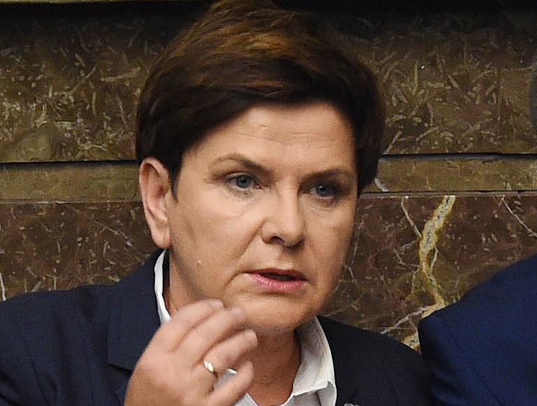 """Beata Szydło: """"Parlament Europejski dał się wciągnąć w grę polityczną Platformy Obywatelskiej"""" /Radek Pietruszka /PAP"""