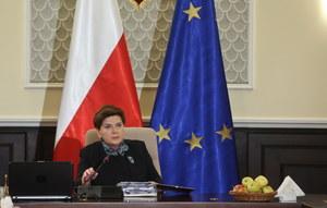 Beata Szydło podsumowuje półrocze rządów PiS