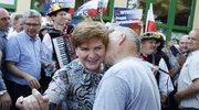 Beata Szydło porwana do tańca na spotkaniu wyborczym