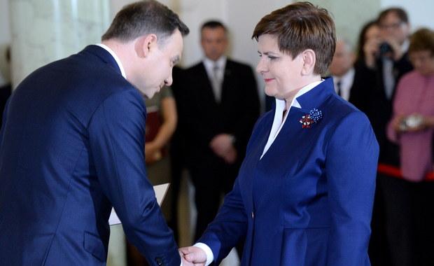 Beata Szydło powołana na premiera [RELACJA]