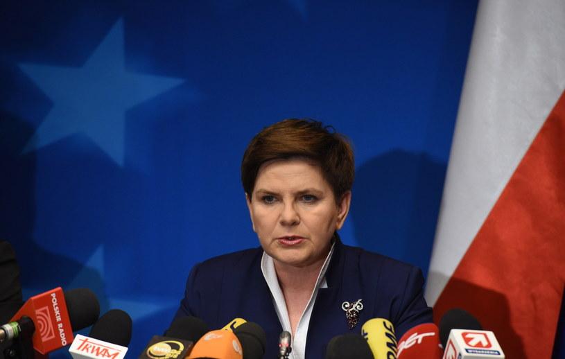 Beata Szydło, premier Polski /Radek Pietruszka /PAP