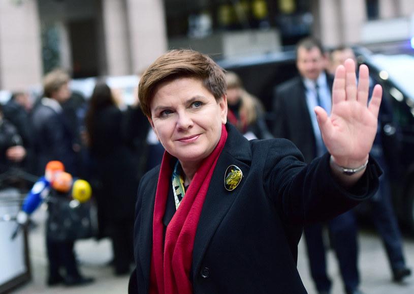 Beata Szydło, premier RP /AFP