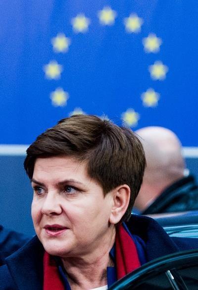 Beata Szydło, premier rządu PiS /EPA