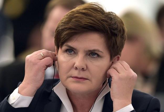 Beata Szydło, premier rządu RP /AFP