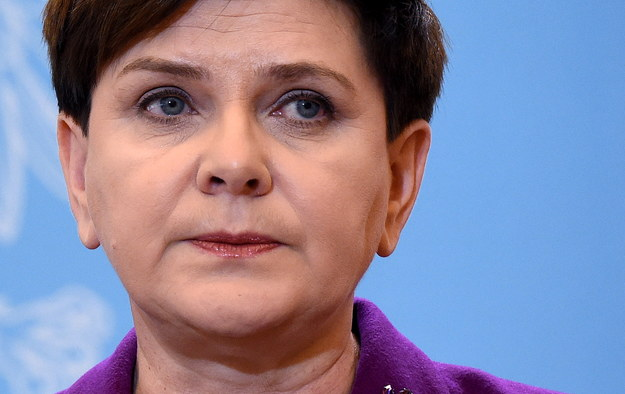 Beata Szydło, premier rządu RP /PAP